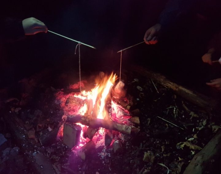 Outdoor Learning: Fire fishing