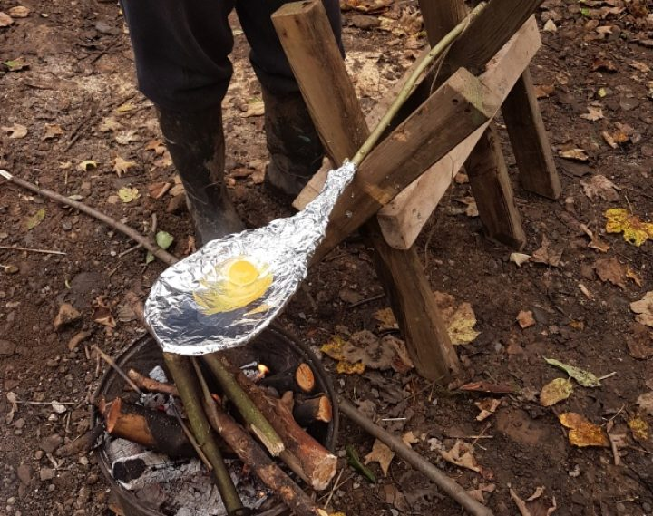 Outdoor Learning: Frying pan